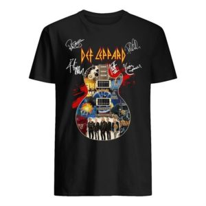 Def Leppard Guitar Signatures Shirt