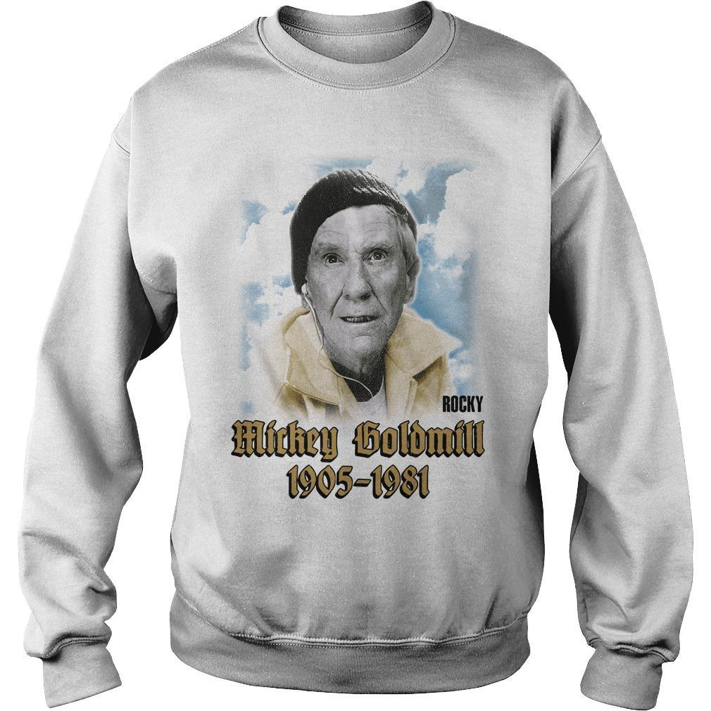 Mickey Goldmill Rocky 1905 1981 Sweater
