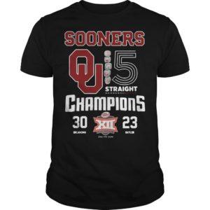 Sooners Qu XII Champions Shirt