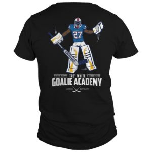 Tre White Goalie Academy Shirt