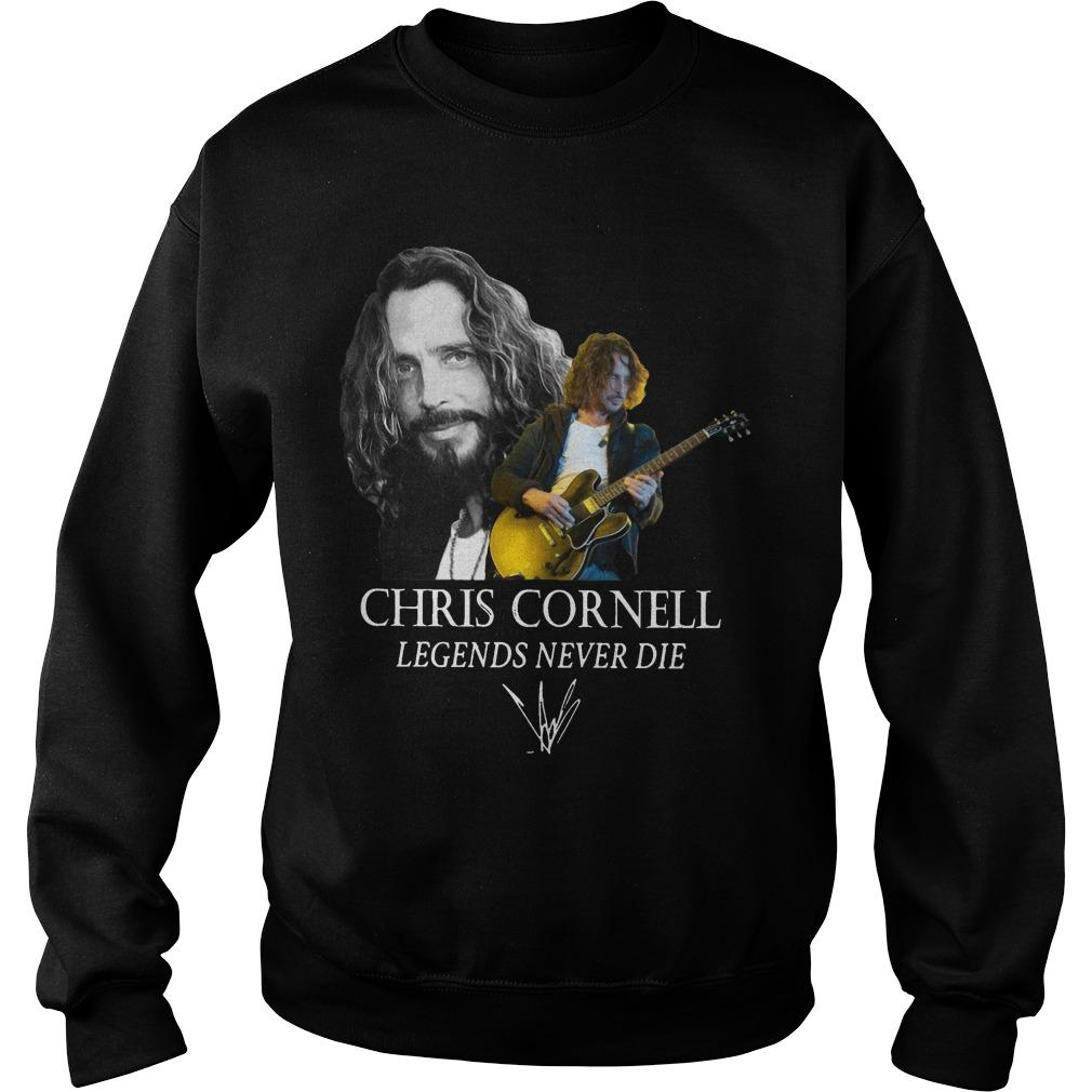 Chris Cornell Legends Never Die Signature Sweater