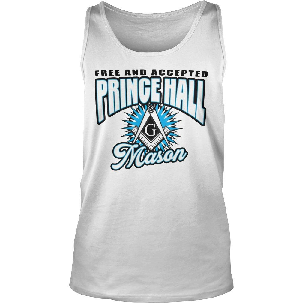 Free And Accepted Prince Hall Mason Tank Top