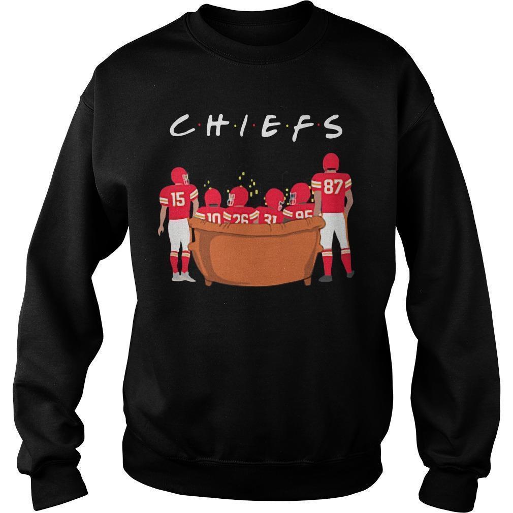 Friends Tv Show Kansas City Chiefs Sweater