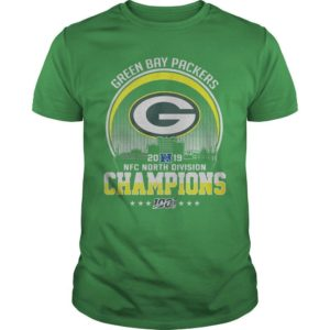 Green Bay Packers 2019 Nfc North Division Champions Shirt