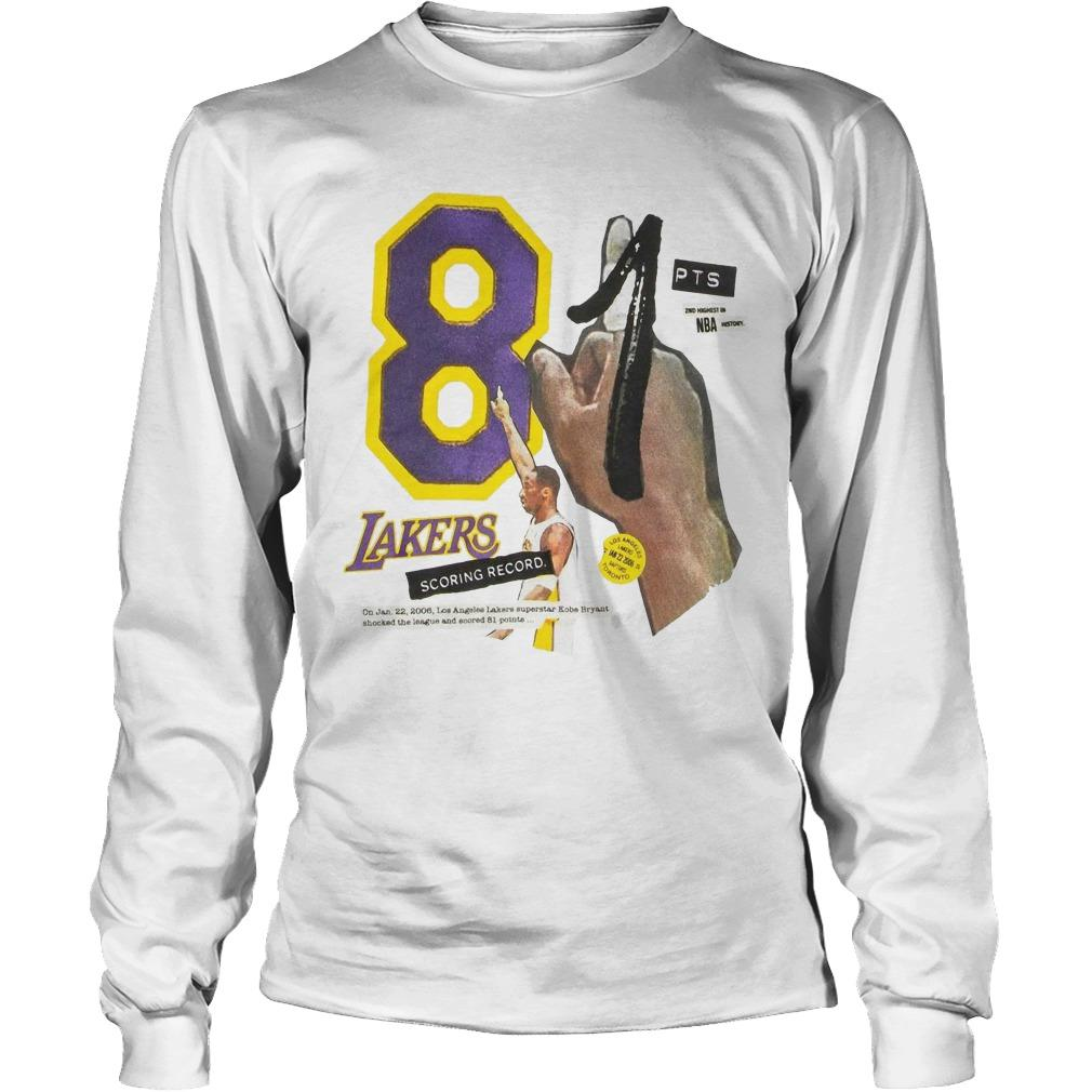 Lakers Kobe 81 Longsleeve