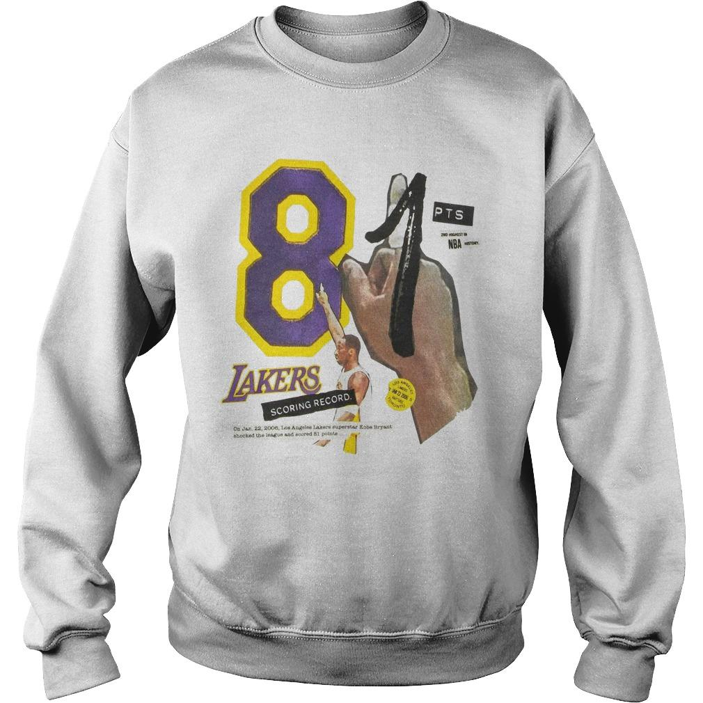 Lakers Kobe 81 Sweater