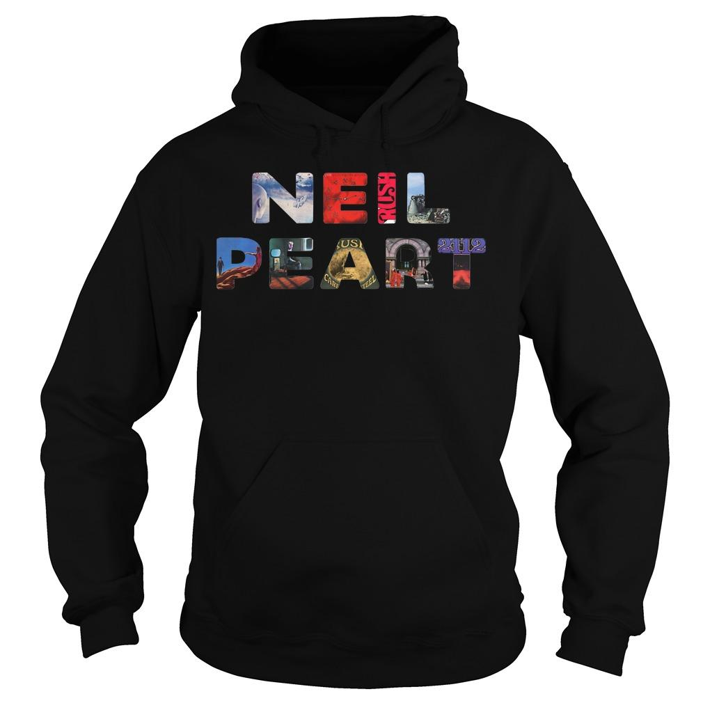 Life Is Better With Music Neil Peart Hoodie