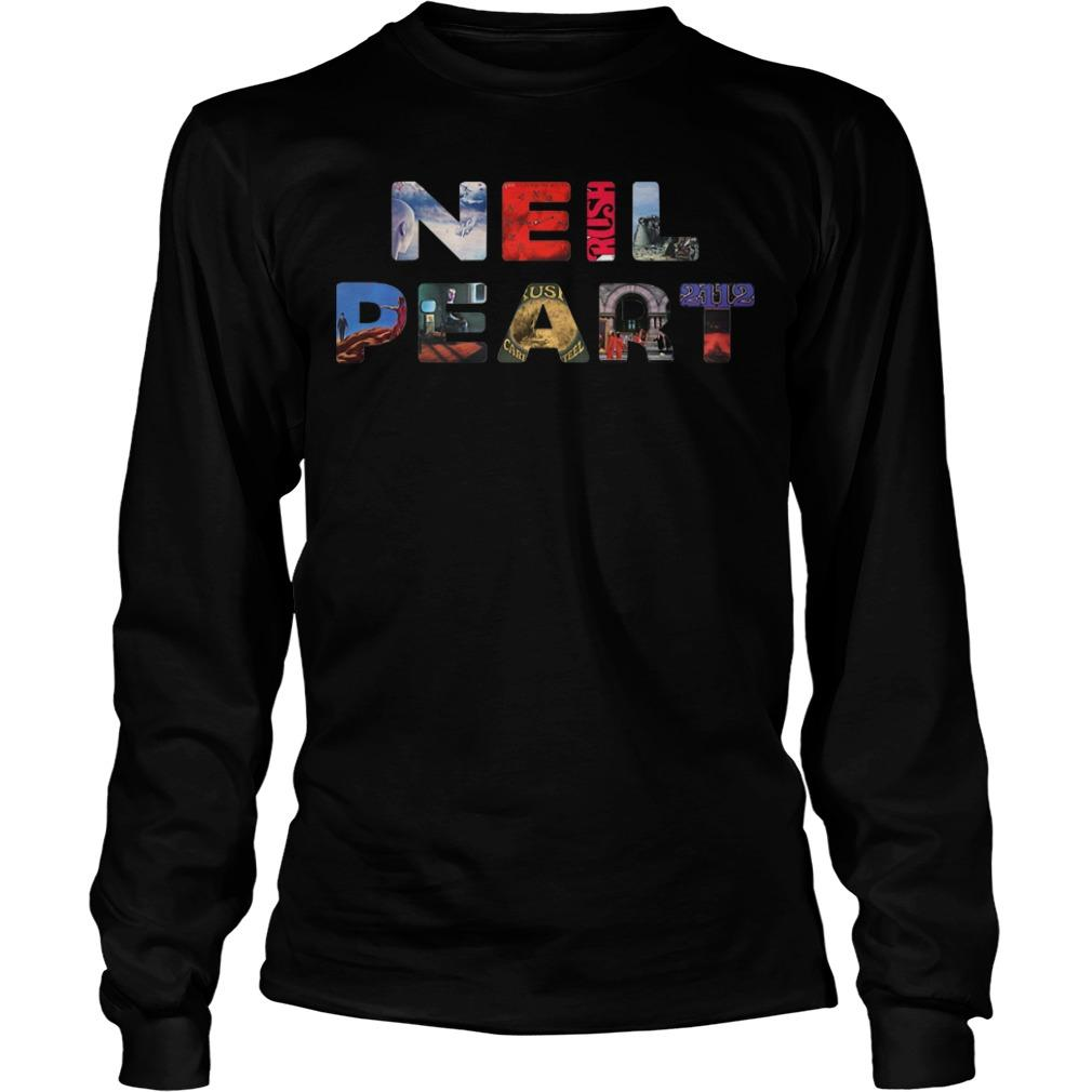 Life Is Better With Music Neil Peart Longsleeve