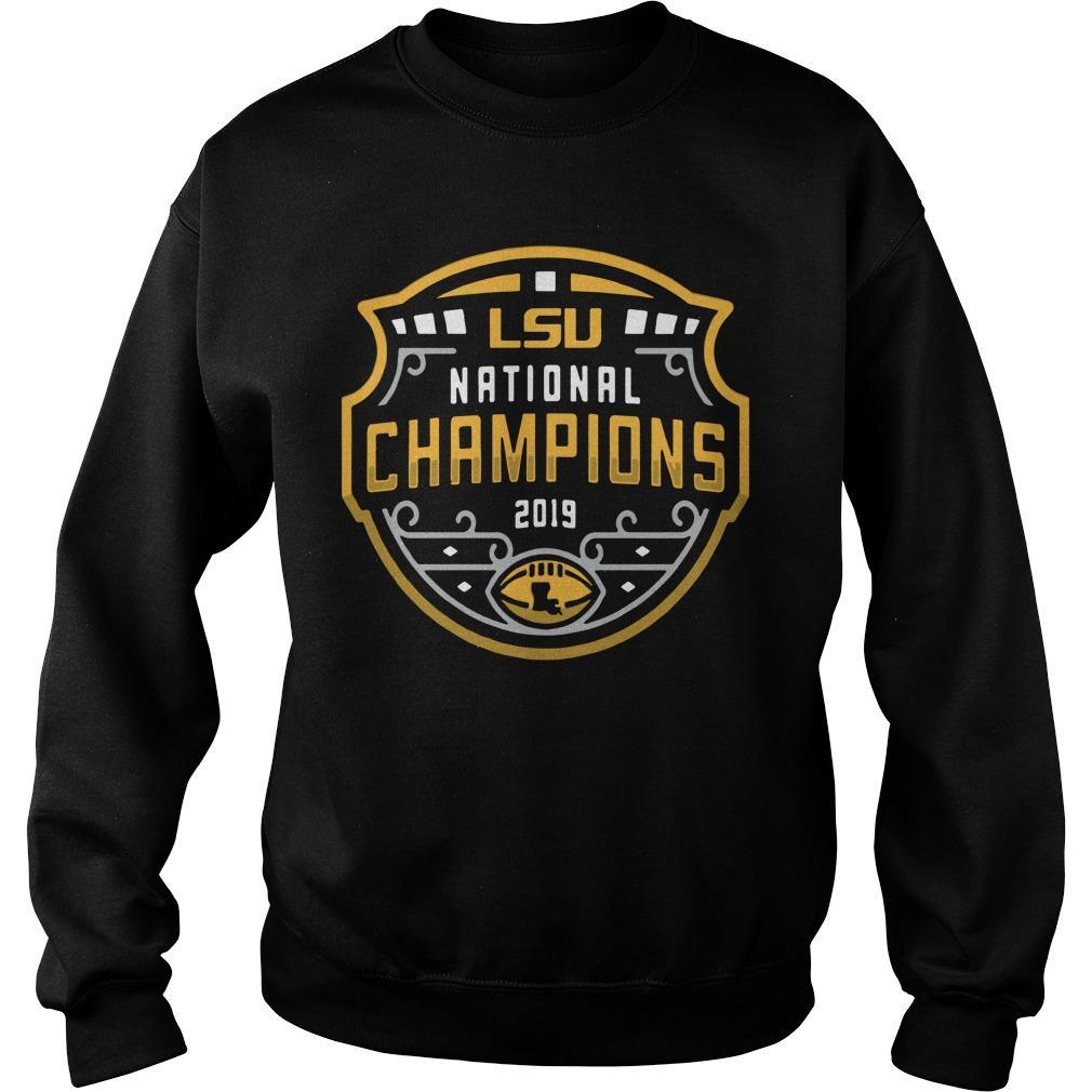 Lsu National Championship Sweater