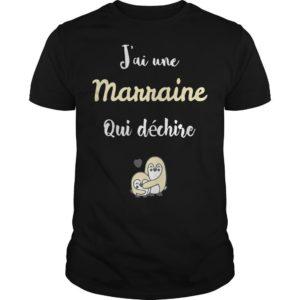 Penguins J'ai Une Marraine Qui Déchire Shirt