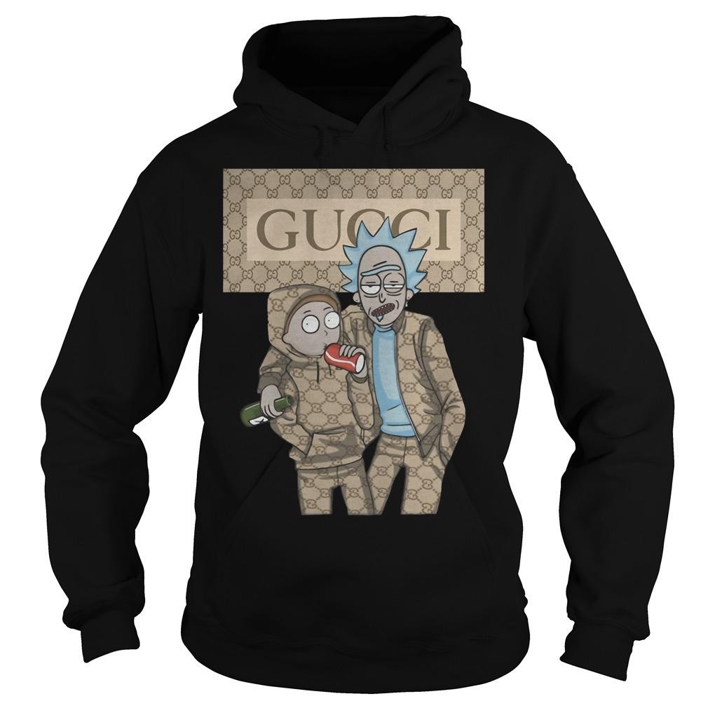 Rick And Morty Gucci Hoodie