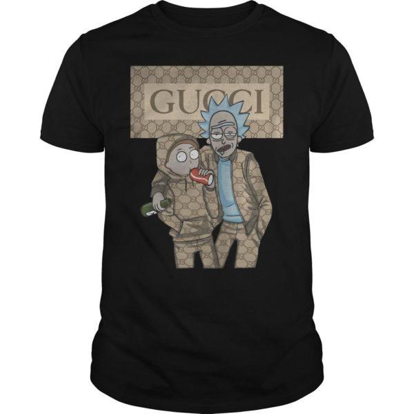 Rick And Morty Gucci Shirt