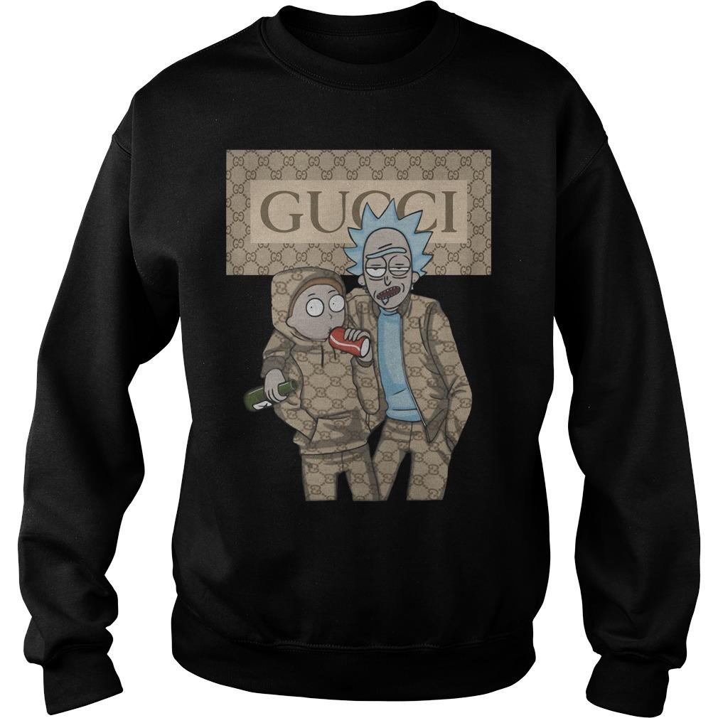 Rick And Morty Gucci Sweater
