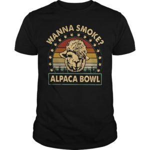 Vintage Wanna Smoke Alpaca Bowl Shirt