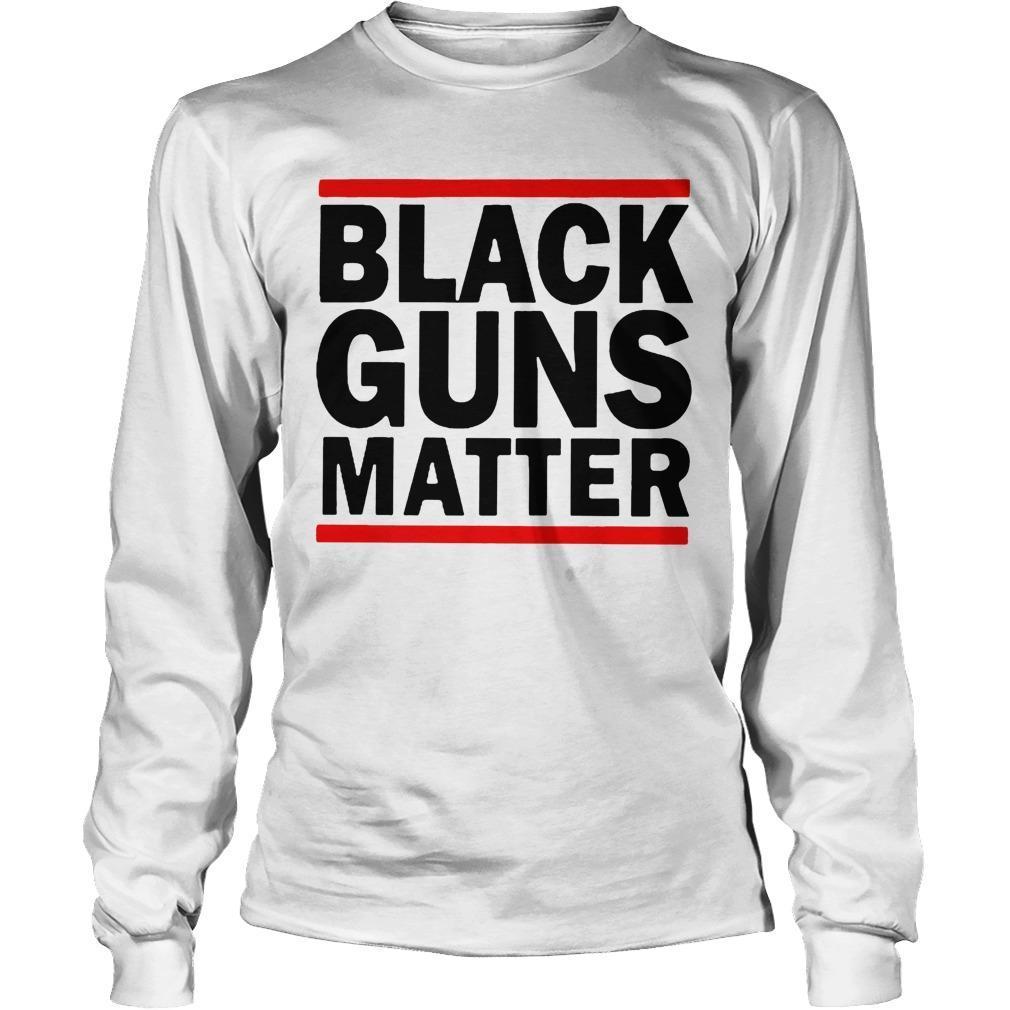 Virginia's Capital Black Guns Matter Longsleeve