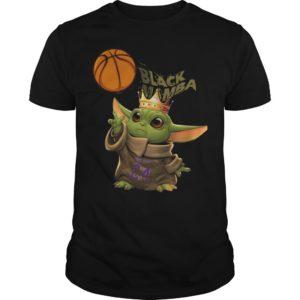 Baby Yoda Black Mamba Shirt