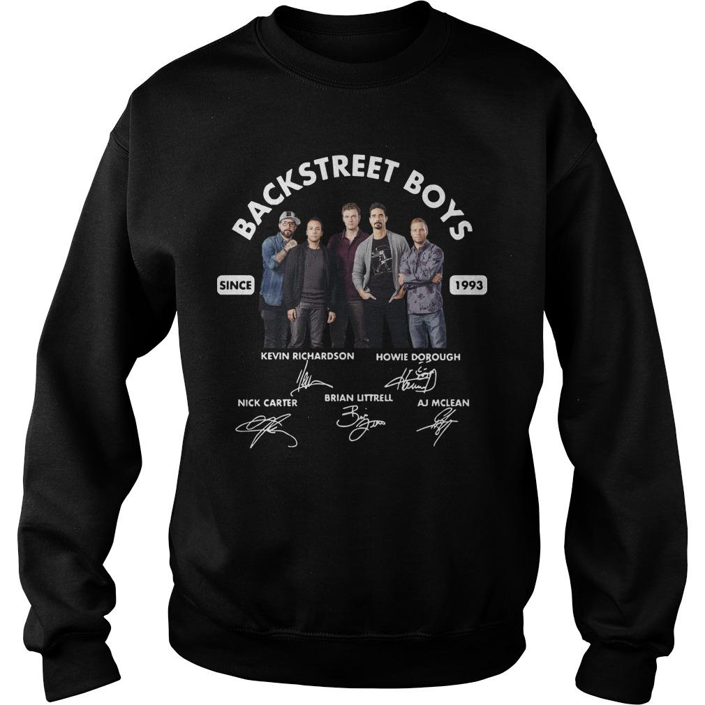 Backstreet Boys Signature Since 1993 Sweater