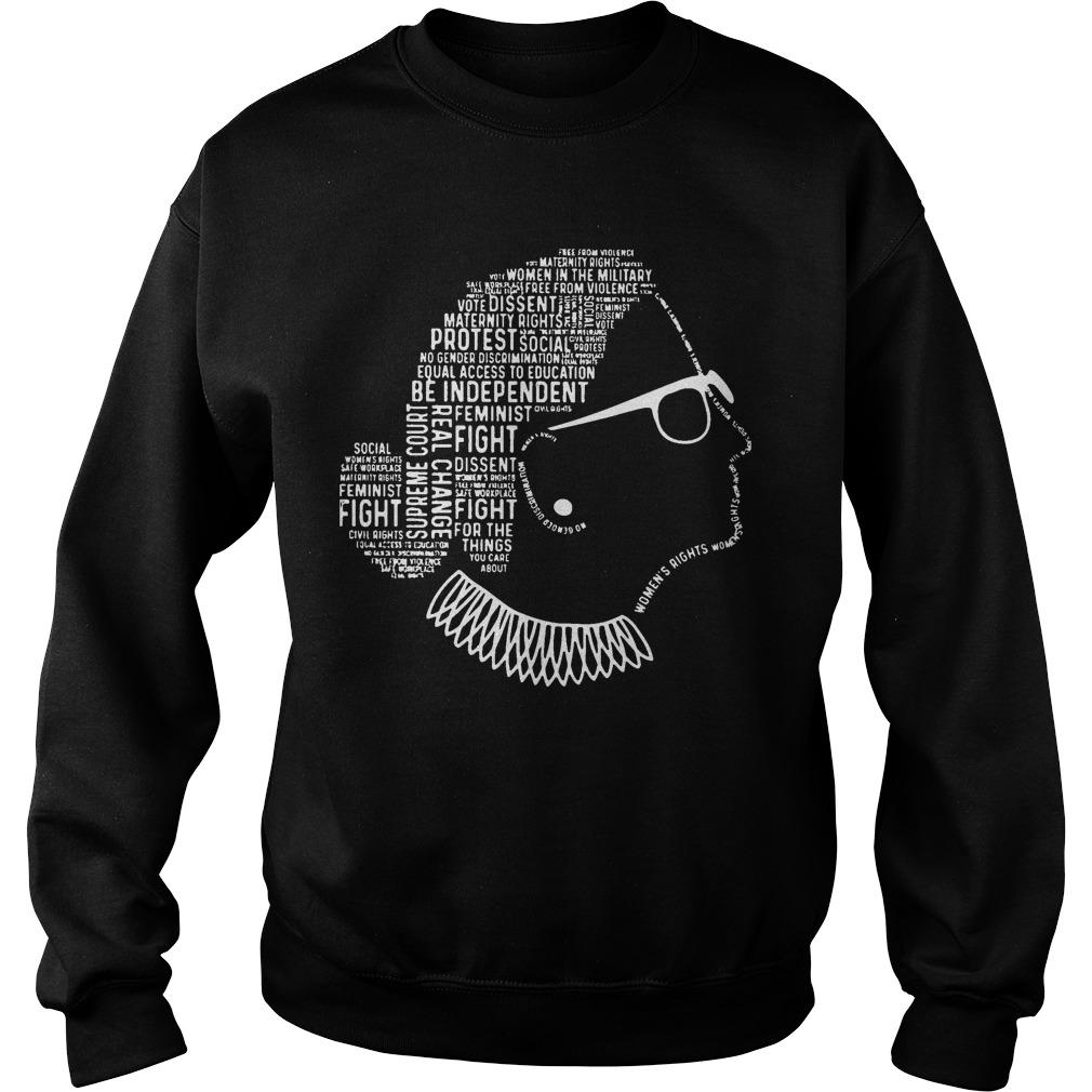 Be Independent Rbg Silhouette Sweater