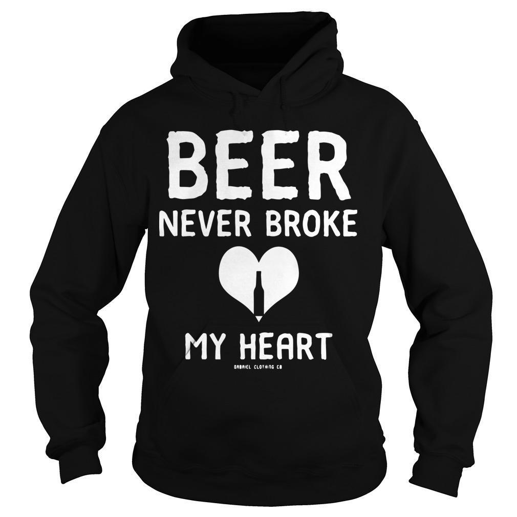 Beer Never Broke My Heart Hoodie
