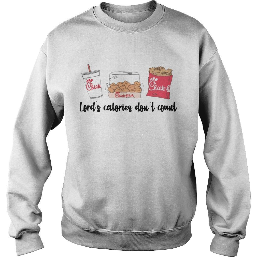 Chick Fil A Lord's Calories Don't Count Sweater