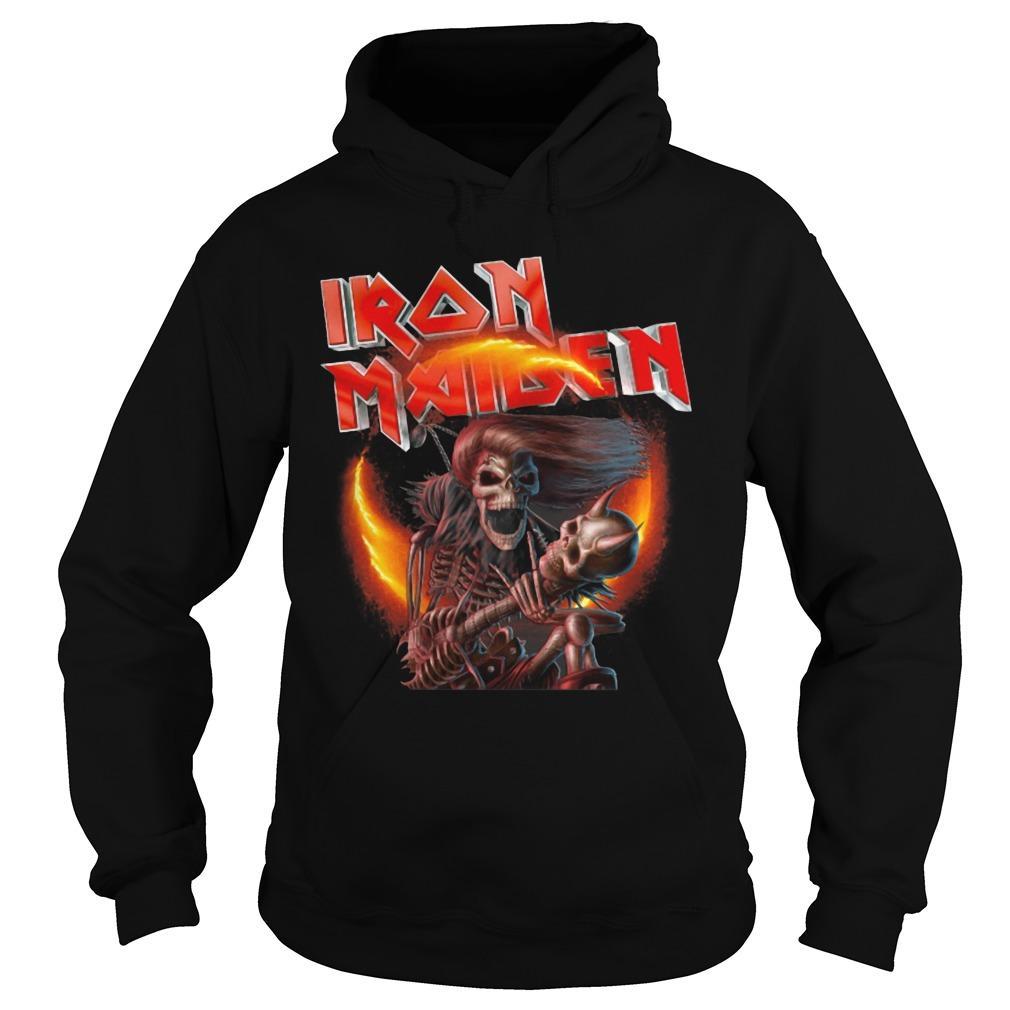 Death Iron Maiden Hoodie