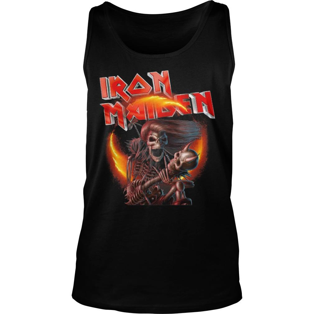 Death Iron Maiden Tank Top