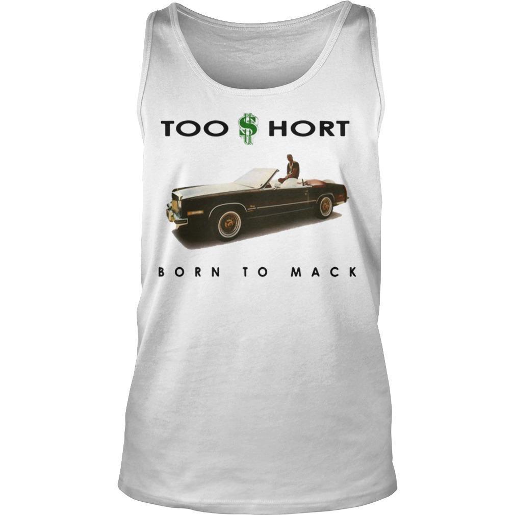 Dollar Too Short Born To Mack Tank Top