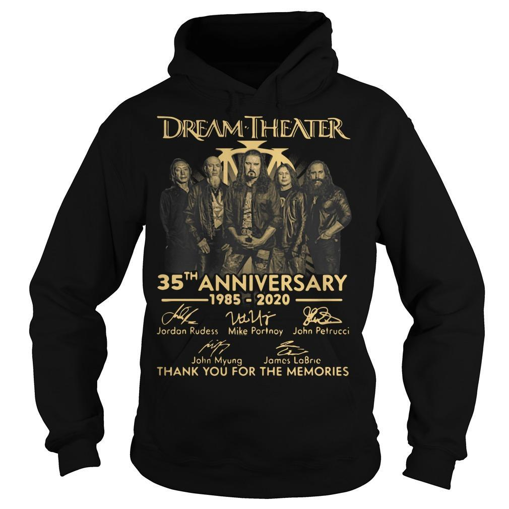 Dream Theater 35th Anniversary Thank You For The Memories Hoodie