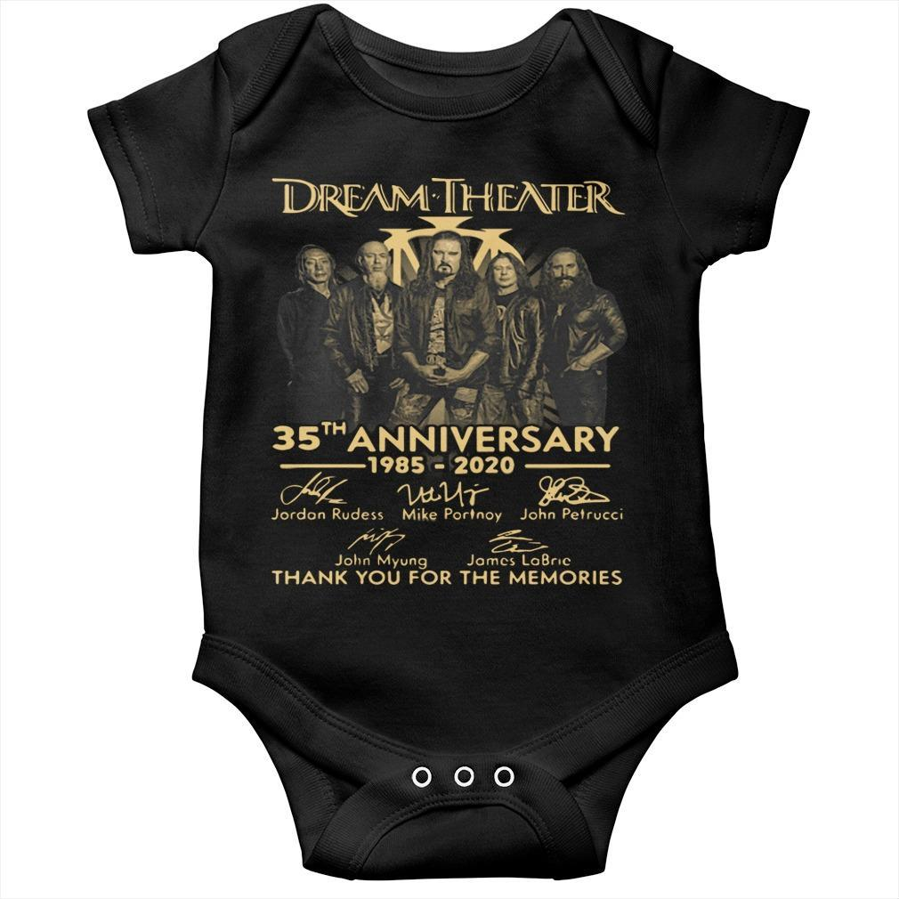 Dream Theater 35th Anniversary Thank You For The Memories Longsleeve