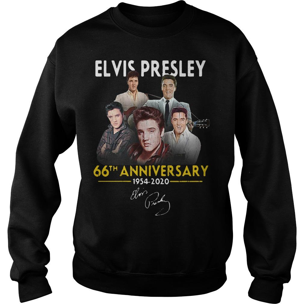 Elvis Presley 66th Anniversary 1975 2020 Signatures Sweater