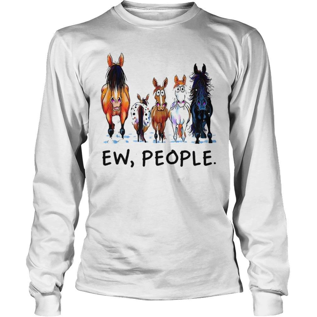 Horse Ew People Longsleeve