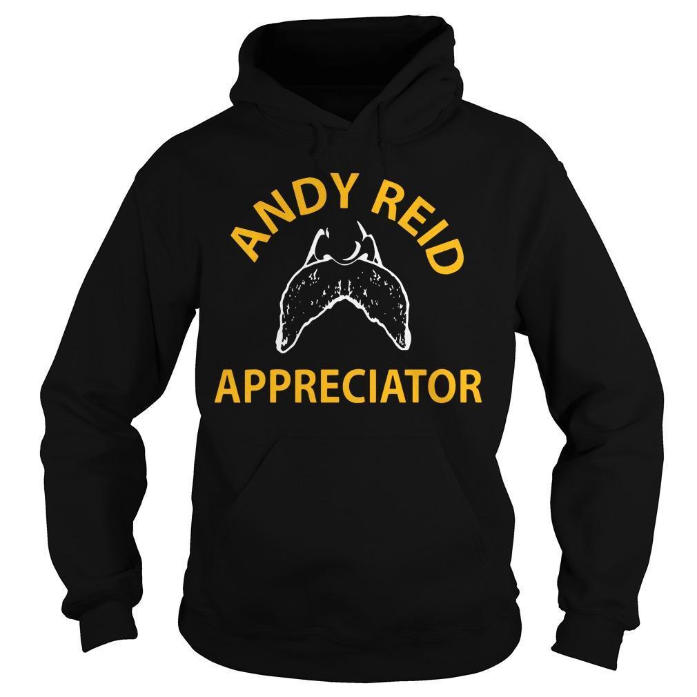 Jason Kelce Andy Reid Appreciator Hoodie