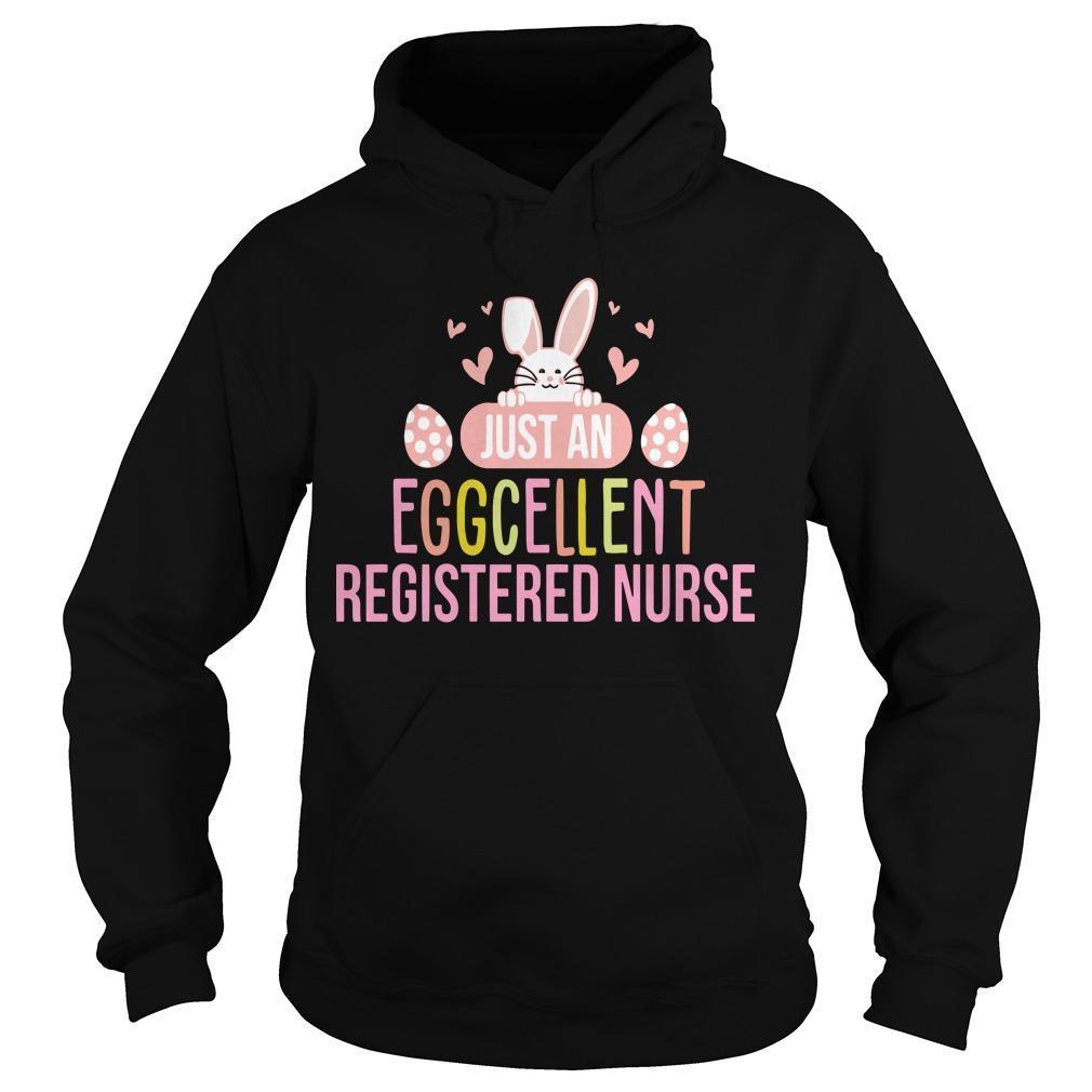 Just An Eggcellent Registered Nurse Hoodie