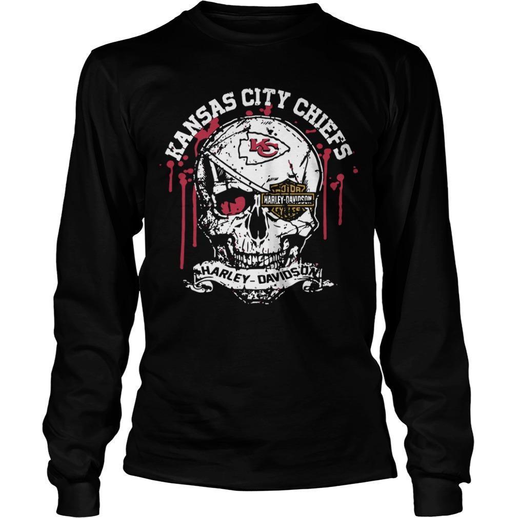 Kansas City Chiefs Harley Davidson Longsleeve