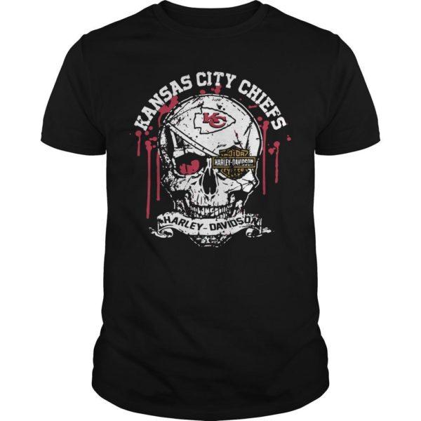 Kansas City Chiefs Harley Davidson Shirt