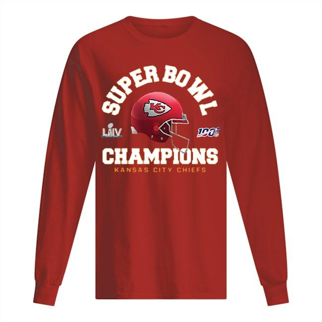 Kansas City Chiefs Super Bowl Champions Longsleeve