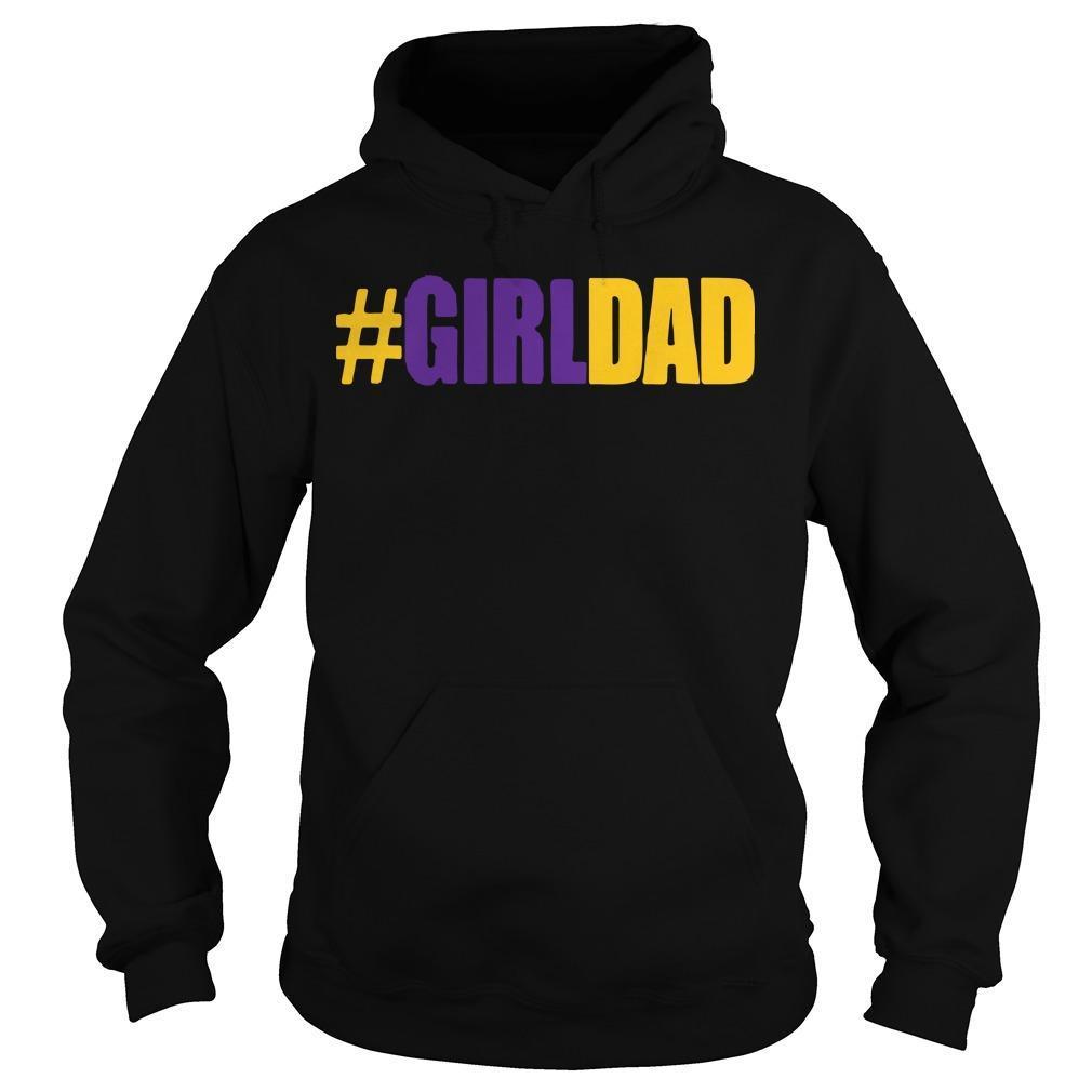 Kobe Girl Dad Father Of Daughters #Girldad Hoodie