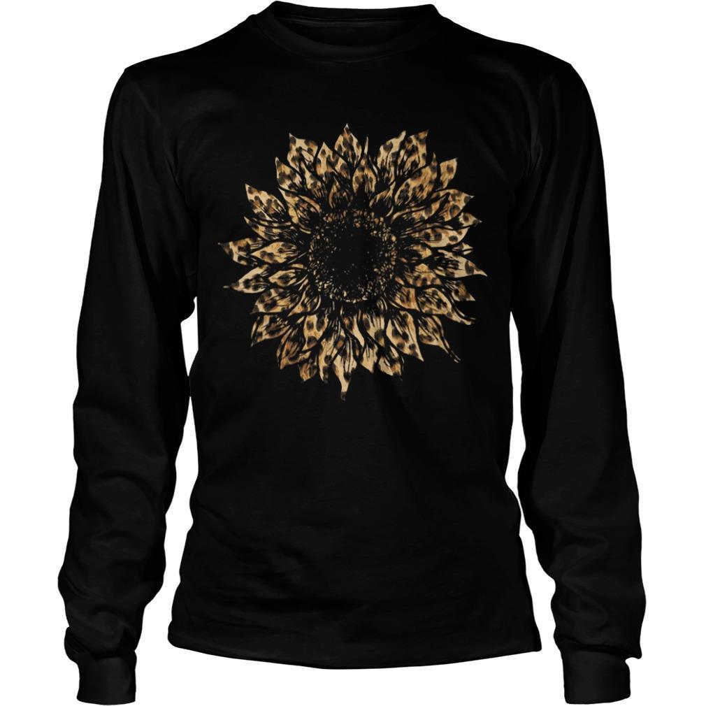 Leopard Sunflower Longsleeve