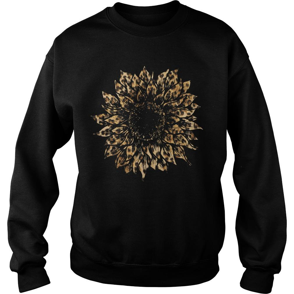 Leopard Sunflower Sweater
