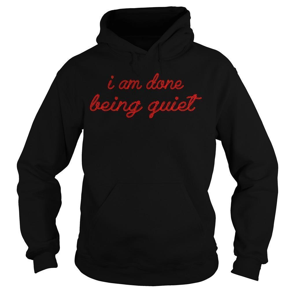 Lisa Page I Am Done Being Quiet Hoodie