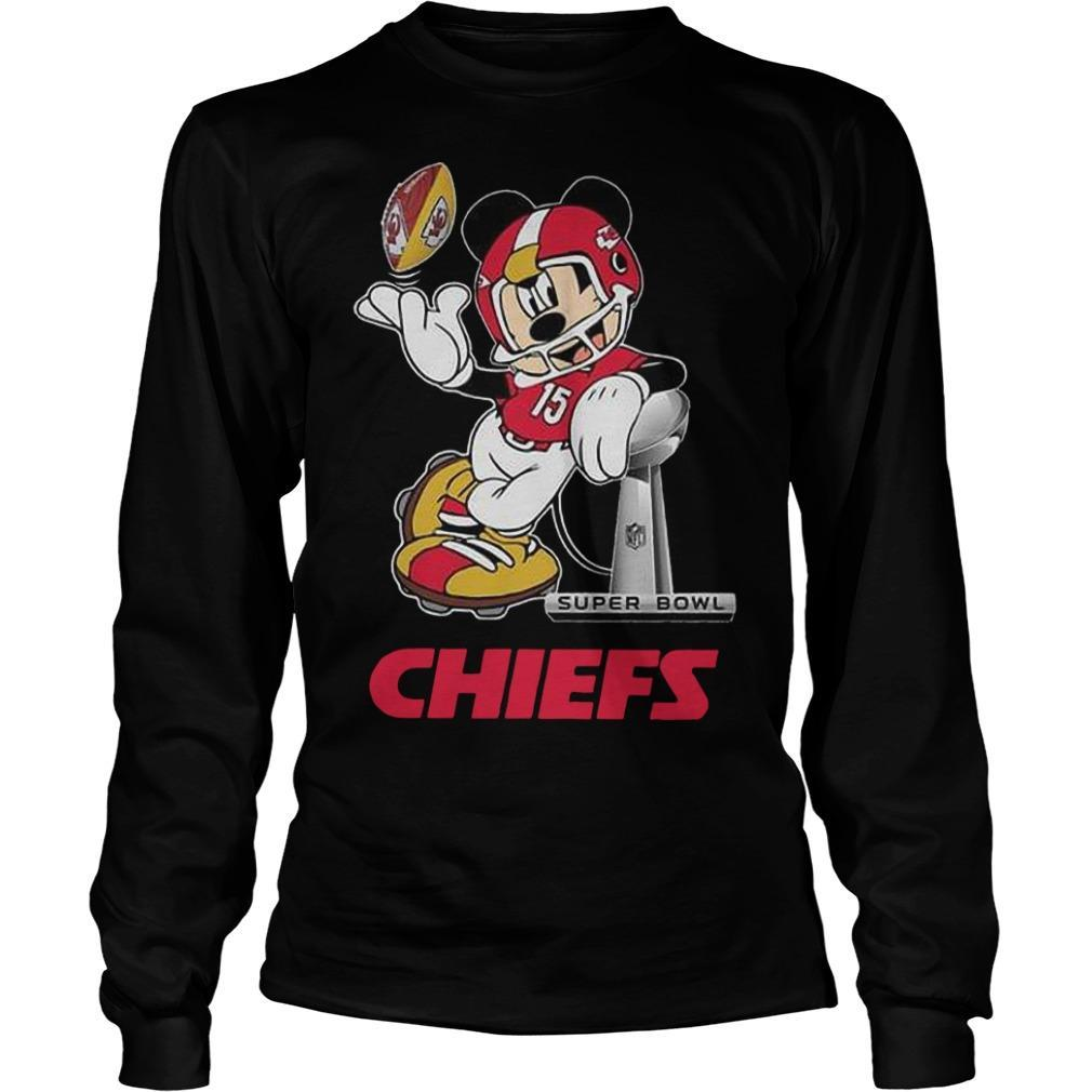 Mickey Super Bowl Liv Chiefs Longsleeve