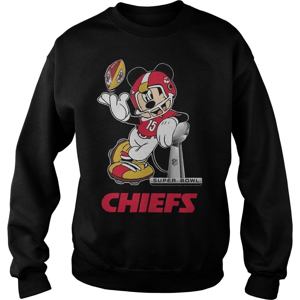 Mickey Super Bowl Liv Chiefs Sweater