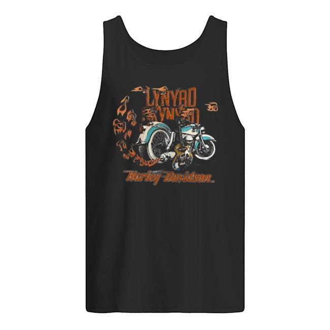 Motorcycle Guitar Lynyrd Skynyrd Harley Davidson Tank Top