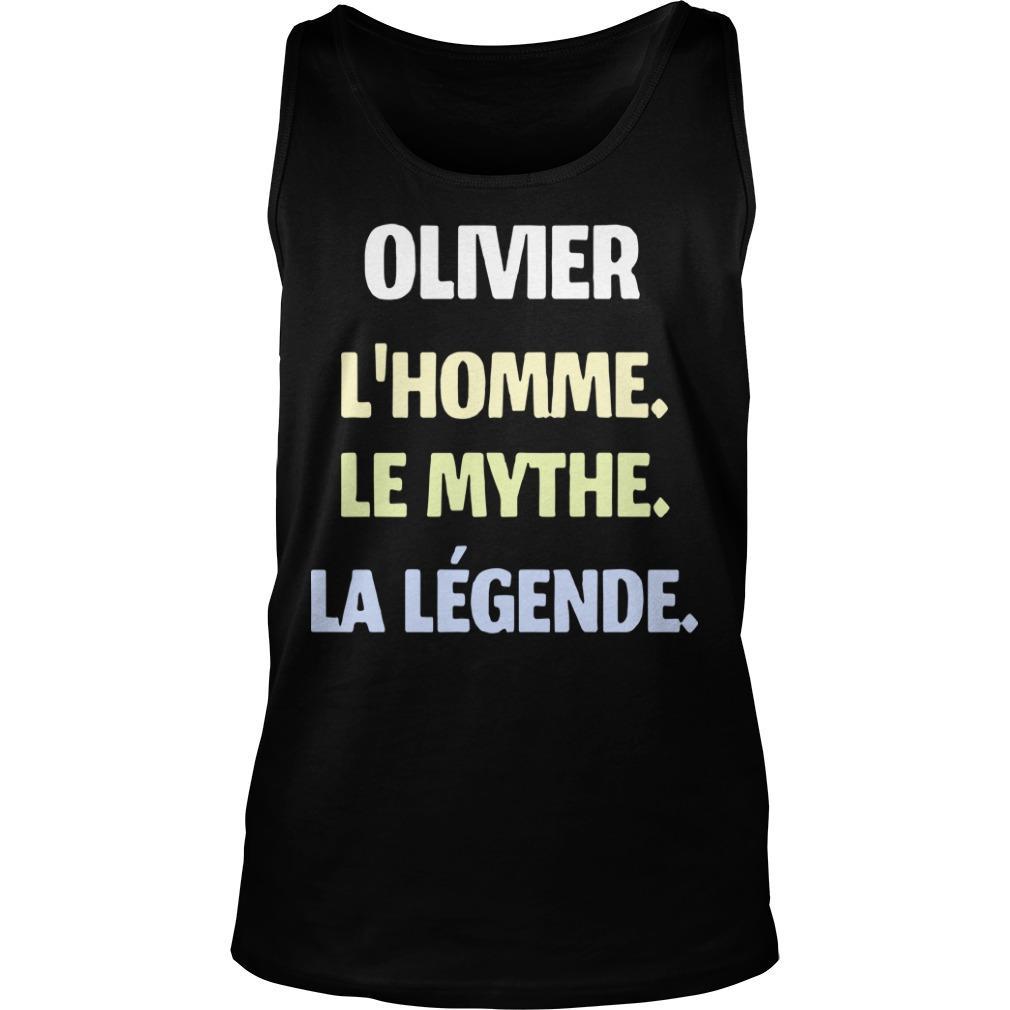 Olivier L'homme Le Mythe La Légende Tank Top
