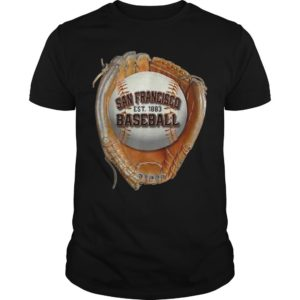 San Francisco Baseball Est 1883 Shirt