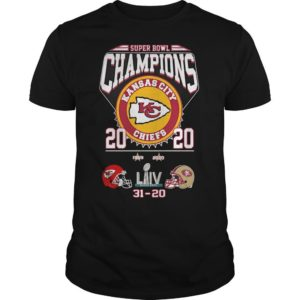 Super Bowl Champions Kansas City Chiefs 2020 31 20 Sf Shirt