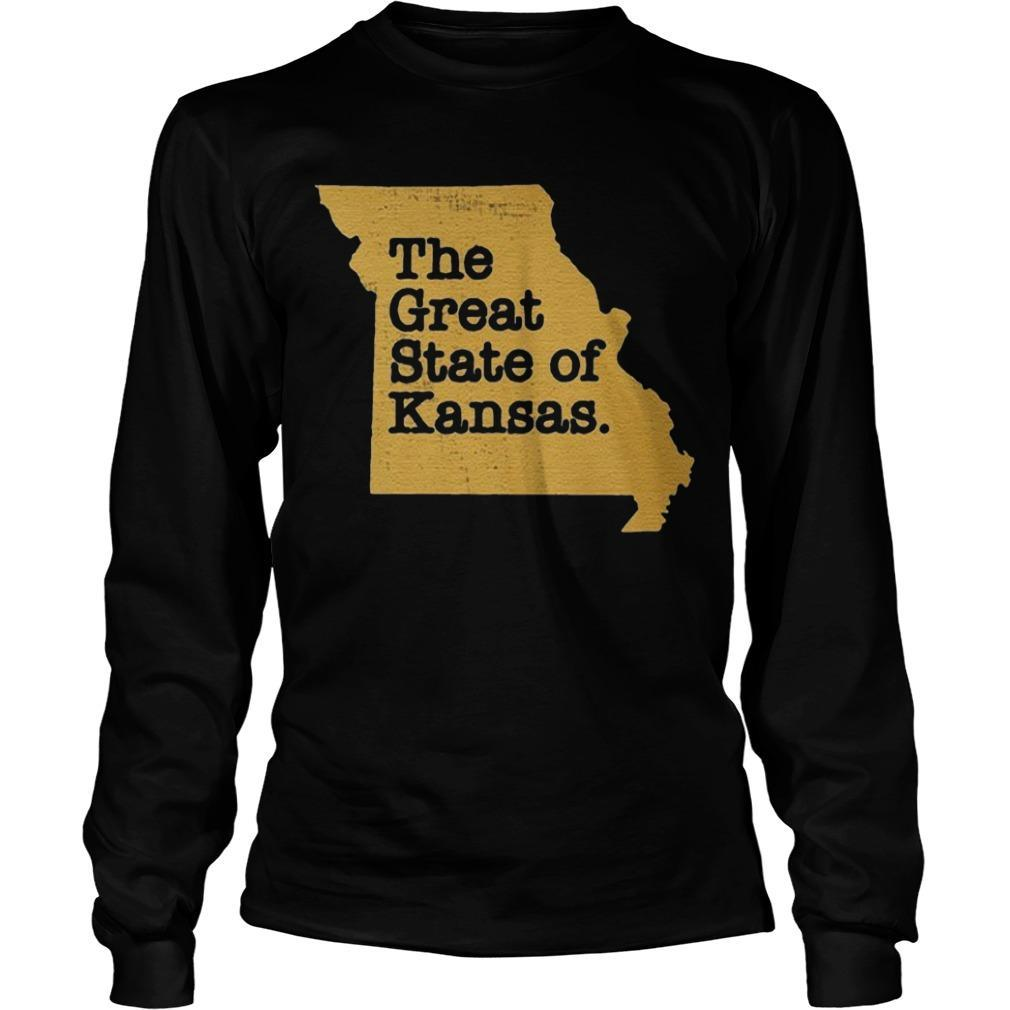 The Great State Of Kansas Longsleeve