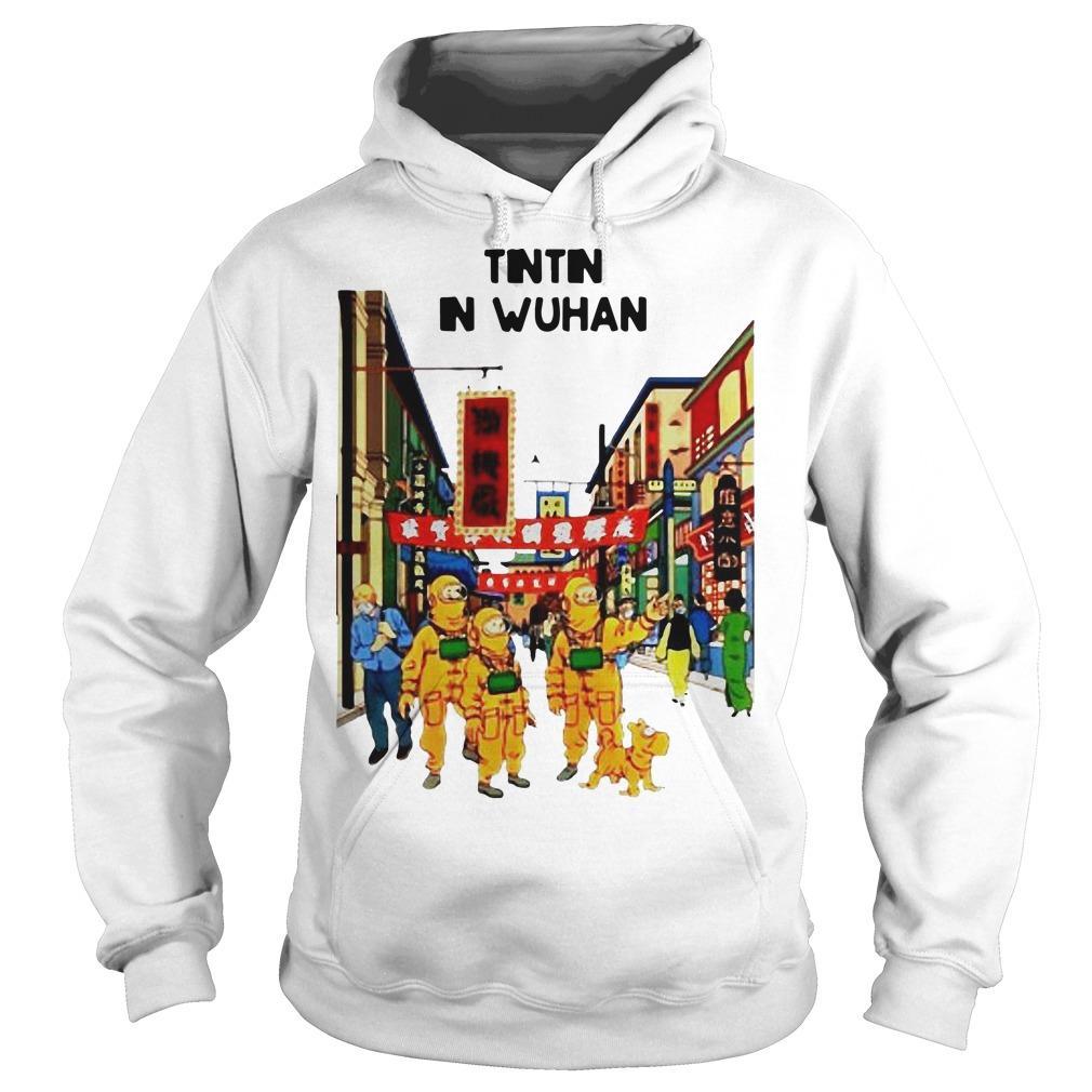 Tintin In Wuhan Hoodie