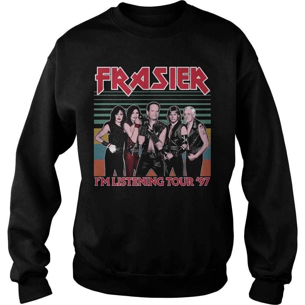 Vintage Frasier I'm Listening Tour '97 Sweater