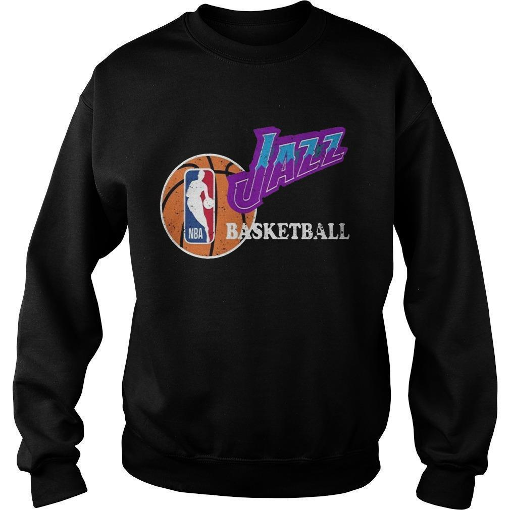 Vintage Jazz Basketball Nba Sweater
